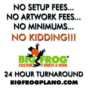 6b6e700b Big Frog Custom T-shirts Plano (bigfrogplano) on Pinterest
