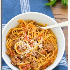 Spaghetti Instant Pot Recipe Easy