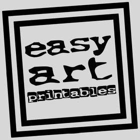 Easy Art Printables