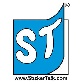 10in x 3in Lets Play Electric Guitar Bumper Sticker StickerTalk/®