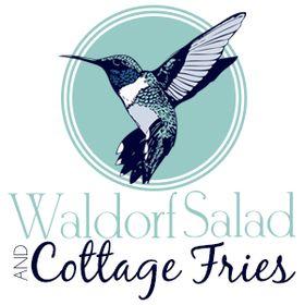 Waldorf Salad & Cottage Fries