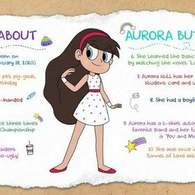 Star Butterfly/Aurora butterfly Diaz