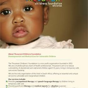 Thusanani Children's Foundation