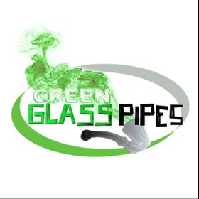 Green Glass Pipes