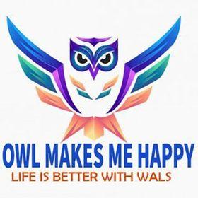 Owl Makes  Me Happy