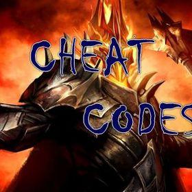Cheatscheatcodes