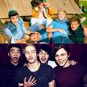 One Direction & 5 Seconds Of Summer Preferences