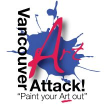Vancouver Art Attack - Paint Your Art Out!