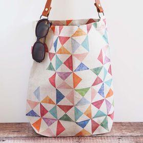 Clare Mazitelli Designs - Printed linen bags and accessories