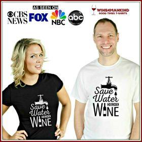 wine4mankind t-shirt
