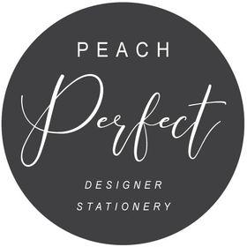 Peach Perfect Designer Cards & Invitations