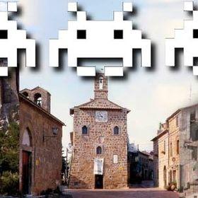Invaders Citta del Tufo