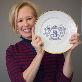 Sasha Nicholas Monogrammed China Dinnerware & Gifts | Wedding Registry Ideas & Tablescapes