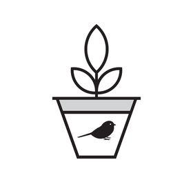 Chickadee Pots