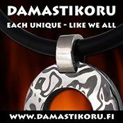 Damastikoru / Damascus Jewelry