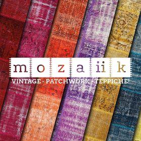 mozaiik Vintage Patchwork Teppiche