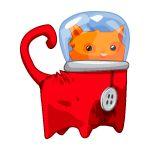 Red Spacecat