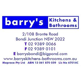 Barry'sKitchensandbathroomsbondijunction