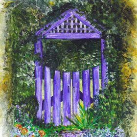 The Purple Wishing Gate