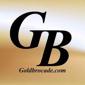 Gold Brocade Pinterest Profile Picture