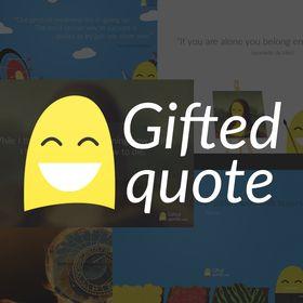 Giftedquote