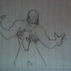 symbiote spiderman from venomverse