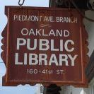 Piedmont Ave Library
