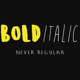 Bold Italic