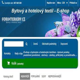 E-shop Forinteriery