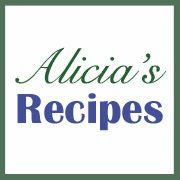 Alicia's Recipes