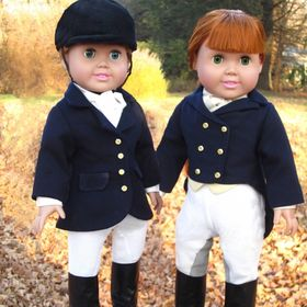 "Reinwear Equestrian Sewing Patterns for 18"" Dolls"