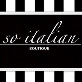 SO ITALIAN Boutique