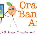 Orange Banana Art