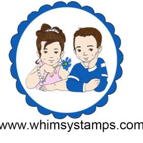 WHIMSY STAMPS Fresh and FUN Rubber Stamps & Supplies