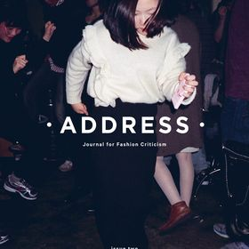 Address - journal for fashion criticism