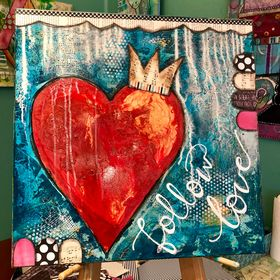Heartwork City by Artist Denise Braun