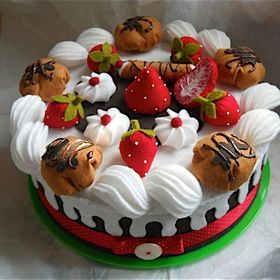 CASA delle Bambole = in metallo latta Yorkshire torta di frutta