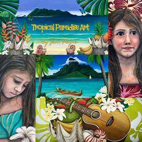 Tropical Paradise Art