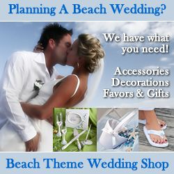 Beach Theme Wedding Ideas
