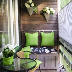 Favori Balkon Dekoration Diybalkondekoration On Pinterest