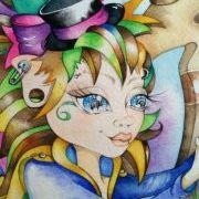 "Linda Biggs ADULT Cannabis Coloring POSTER 12 x 18/"" Free Shipping"