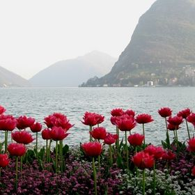 Het Comomeer in Italie