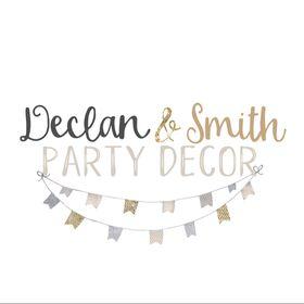 Declan & Smith Party Decor