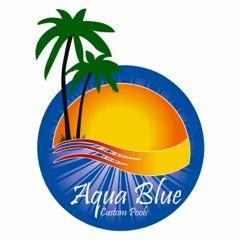 Aqua Blue Custom Pools