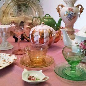 Classy Vintage Glass