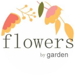 flowers by garden