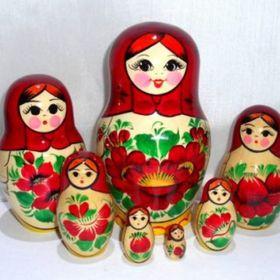 Dolls in Dolls Babushkas Babushka Russian Dolls