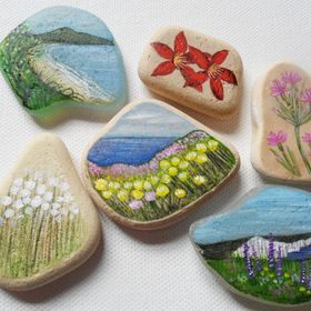 She Paints Sea Glass