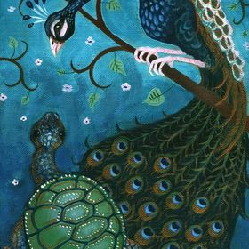 The Peacock and the Tortoise