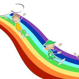 Children and Rainbows